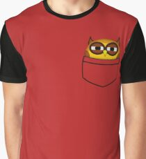 Pocket owl is highly suspicious Graphic T-Shirt
