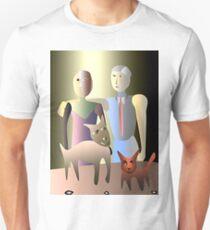 Magic family portrait Unisex T-Shirt