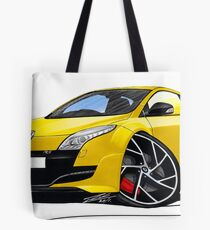 RenaultSport Megane 250 Yellow Tote Bag