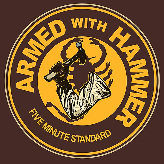 Armed with Hammer by popnerd