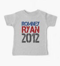 Romney Ryan 2012, Bold Grunge Design Kids Clothes