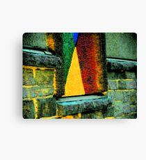 Sailboat on the Sill Canvas Print