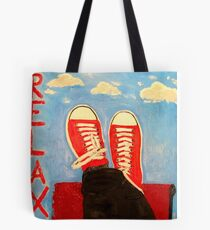 RELAX by MW Art Marion Waschk Tote Bag