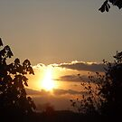 Sunset From Hilltop by JenaHall