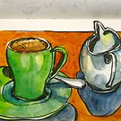 Cup and jug by Evelyn Bach