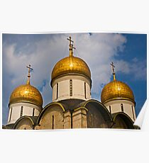 Dormition Cathedral, Moscow Poster