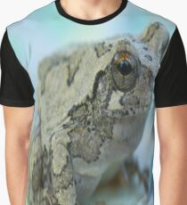 Gray tree frog Graphic T-Shirt