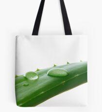 Aloe Vera Leaf Macro Tote Bag