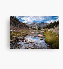 High Sierra Tarn Canvas Print