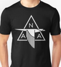 North American Aviation Logo (White) Unisex T-Shirt