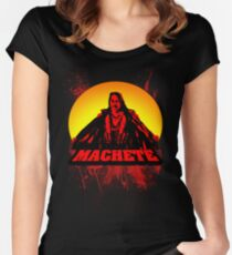 Machete Women's Fitted Scoop T-Shirt
