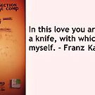 Kafka's knife by Charles Keatts