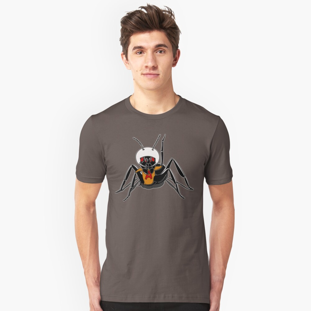An atomic ant. Unisex T-Shirt Front