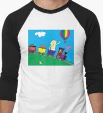 Big Giant Baby and the Balloon Men's Baseball ¾ T-Shirt