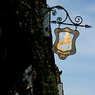 Rye, East Sussex - Mermaid Inn Sign by rsangsterkelly