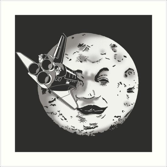 Méliès's moon: Times are changing. by J.C. Maziu