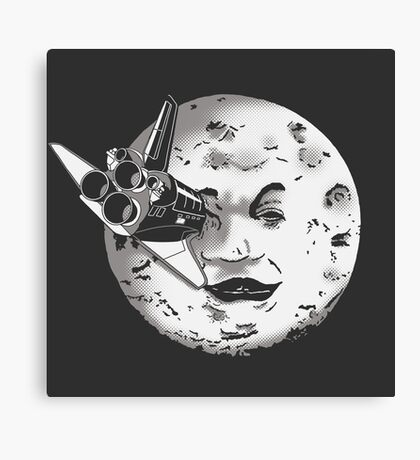 Méliès's moon: Times are changing. Canvas Print