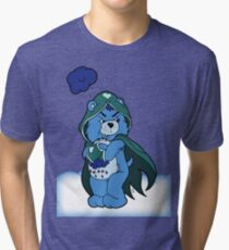 Grumpy Jace Bear Tri-blend T-Shirt