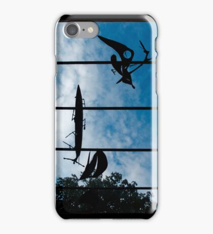 Skyboat Silhouette iPhone Case/Skin