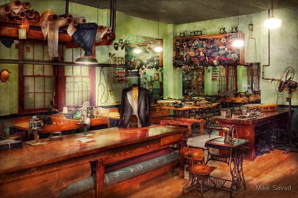 Sewing - Industrial - The sweat shop  by Michael Savad