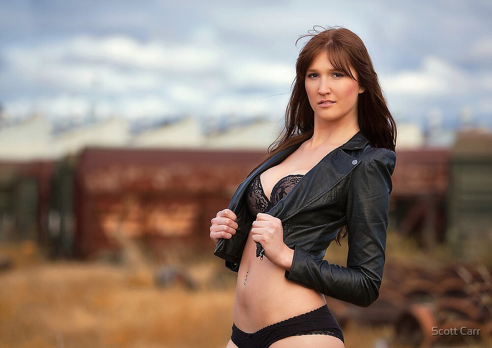 Leather n Lace by Scott Carr
