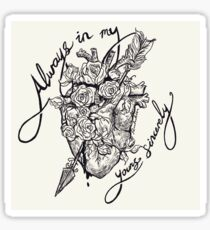 Always in My Heart Tweet(Louis Tomlinson) Sticker