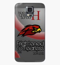 Frightened to Fearless Case/Skin for Samsung Galaxy