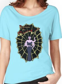 Spider Lady's Web (Stickers and Light Shirts) Women's Relaxed Fit T-Shirt