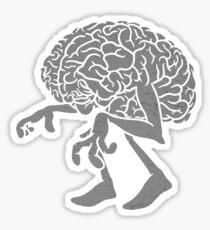 Braindead. Sticker