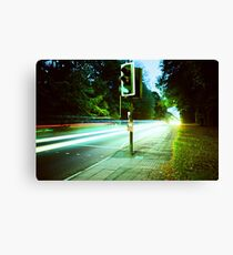 Speed Trails  Canvas Print