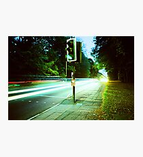 Speed Trails  Photographic Print