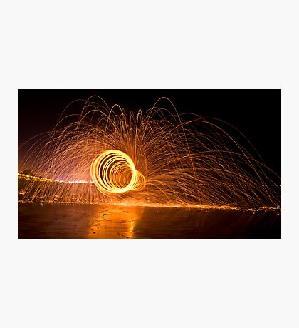 Tubular lights Photographic Print