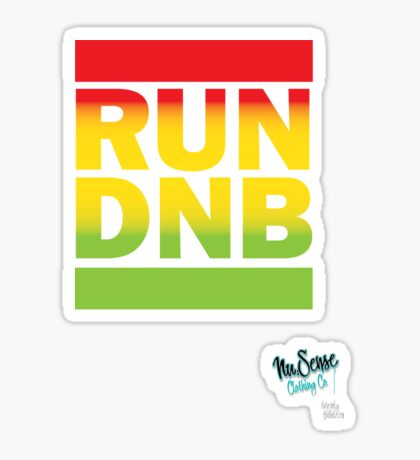 RUN DNB Design - Fade Sticker