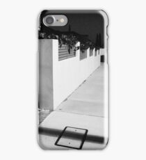 Black and White at Night iPhone Case/Skin