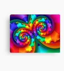 Rainbow Mask Canvas Print