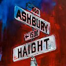 Haight and Hashbury by Elise Palmigiani
