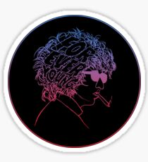 Bob Dylan Forever Young Sticker