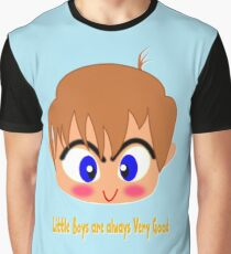 Little Boys are always Very Good T-shirt, etc. design Graphic T-Shirt