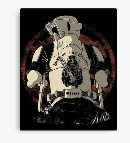 The baddest bikers club of the universe. Canvas Print