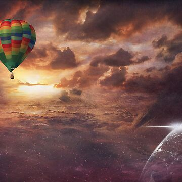 *Hot Air Balloon Dreams by GoldenRectangle