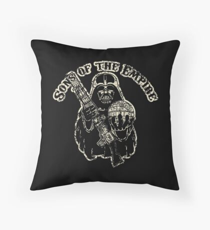Sons of Empire Badge Throw Pillow
