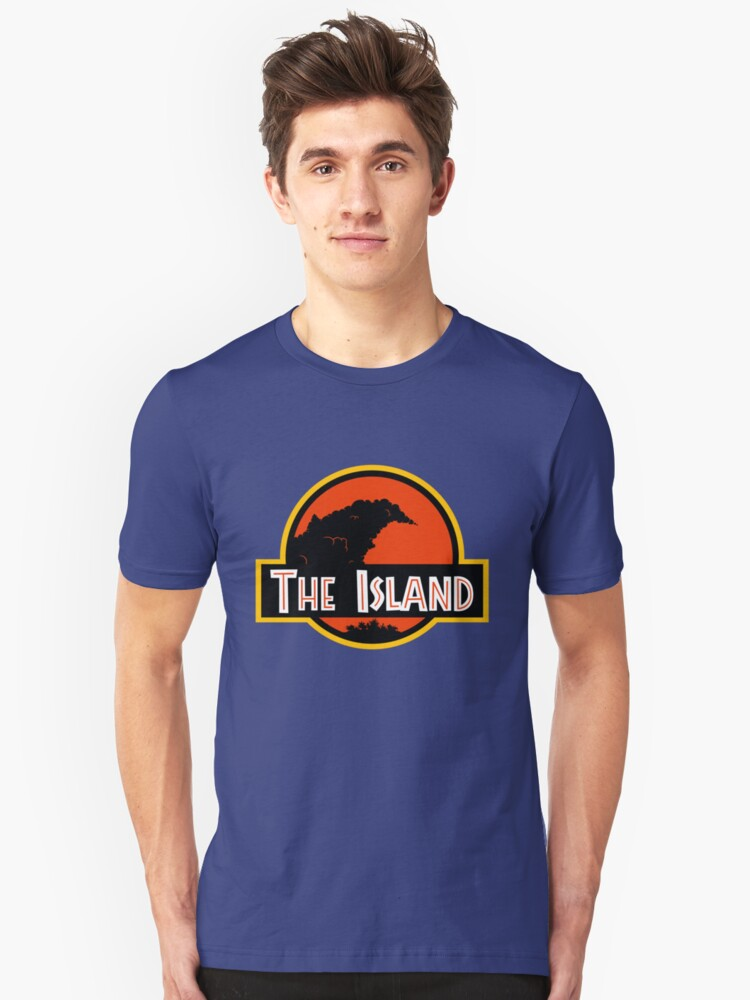Welcome to THE ISLAND! - Classic Unisex T-Shirt Front