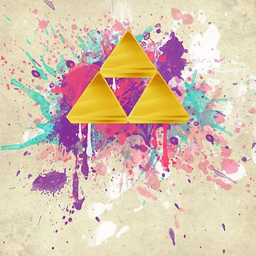 Triforce Splash by B-Rye