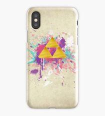 Triforce Splash iPhone Case