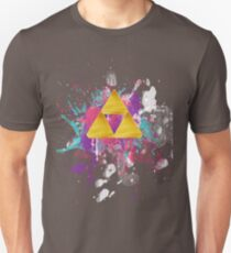 Triforce Splash Unisex T-Shirt
