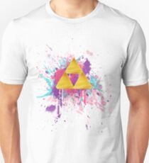 Triforce Splash Unisex T-Shirt