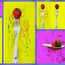 Strawberry Delight . by Irene  Burdell