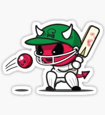 Devilish Cricket Sticker