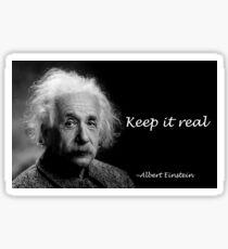 Pegatina Albert Einstein