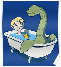 There's something in my bath!! Poster